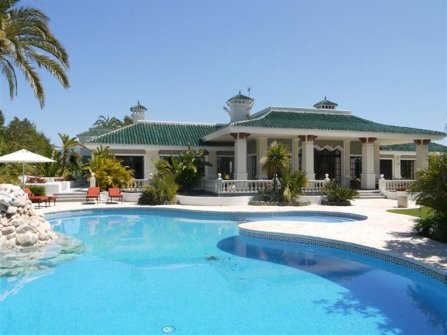 10 bedroom Villa in Golf Valley, Nueva Andalucia, Spain : ref 2245780 - Image 1 - Nueva Andalucia - rentals