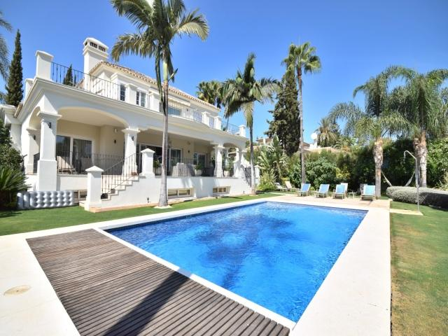 5 bedroom Villa in Golf Valley, Nueva Andalucia, Spain : ref 2245808 - Image 1 - Nueva Andalucia - rentals