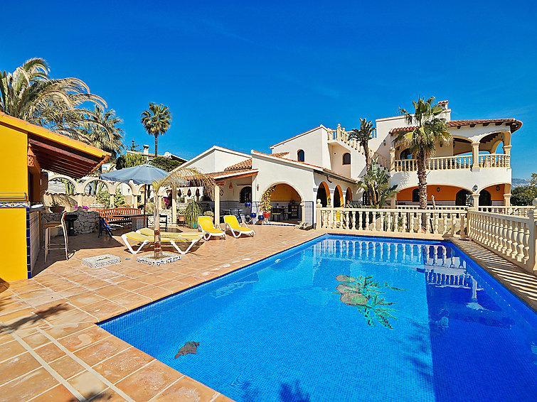 4 bedroom Villa in Moraira, Costa Blanca, Spain : ref 2250432 - Image 1 - La Llobella - rentals