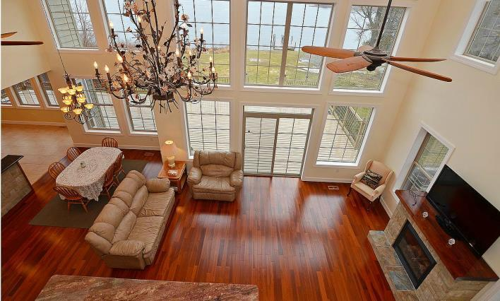 Great Room from Balcony out to the Lake - Crown Jewel of Lower Beverley Lake - Toronto - rentals