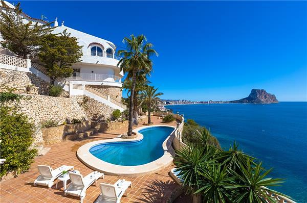 6 bedroom Villa in Calpe, Costa Blanca, Spain : ref 2263405 - Image 1 - Calpe - rentals
