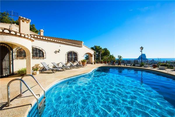10 bedroom Villa in Calpe, Costa Blanca, Spain : ref 2264104 - Image 1 - Calpe - rentals
