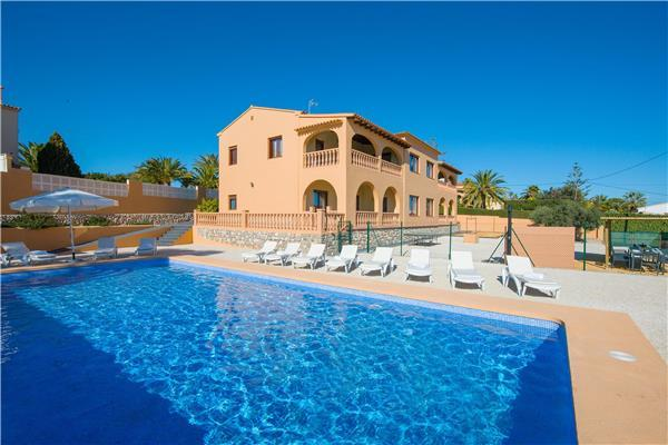 12 bedroom Villa in Calpe, Costa Blanca, Spain : ref 2264891 - Image 1 - Calpe - rentals