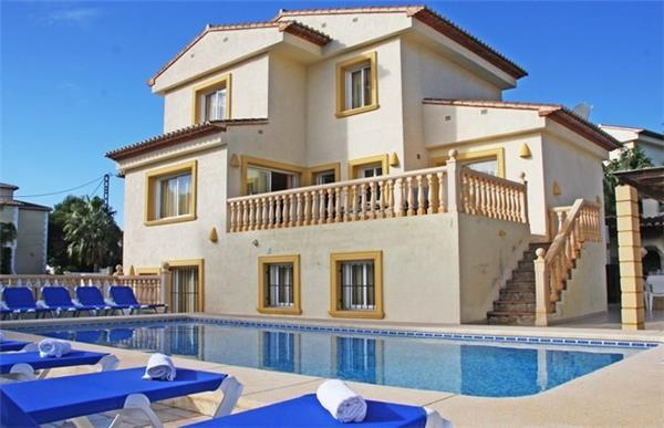 8 bedroom Villa in Calpe, Costa Blanca, Spain : ref 2265076 - Image 1 - La Llobella - rentals