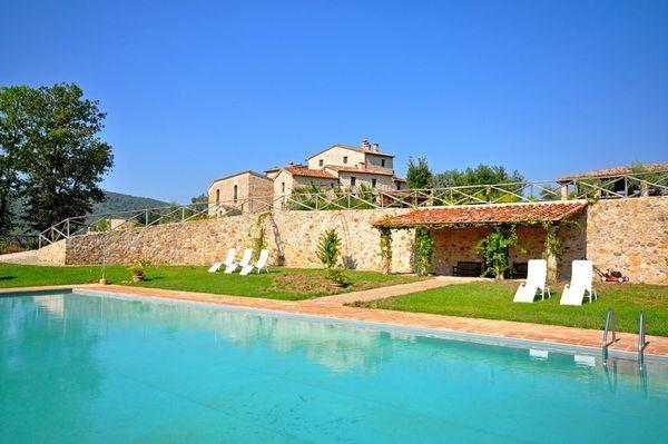 14 bedroom Villa in Monticiano, Tuscany, Italy : ref 2266016 - Image 1 - San Lorenzo a Merse - rentals