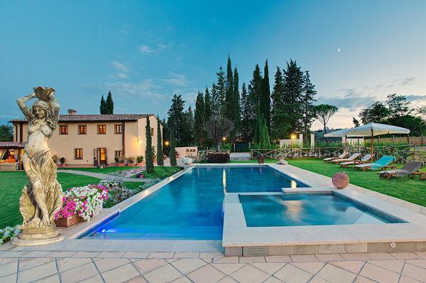 6 bedroom Villa in San Gimignano, Tuscany, Italy : ref 2266058 - Image 1 - Le Piazze - rentals