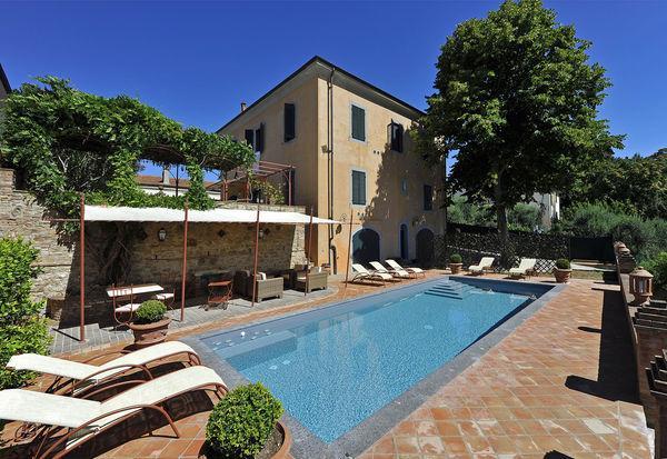 5 bedroom Villa in Peccioli, Tuscany, Italy : ref 2266069 - Image 1 - Fabbrica di Peccioli - rentals