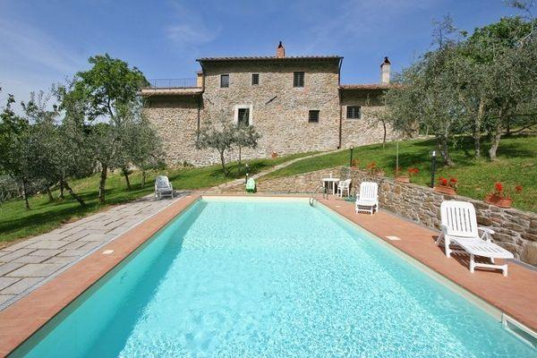 6 bedroom Villa in San Polo In Chianti, Tuscany, Italy : ref 2266239 - Image 1 - Poggio alla Croce - rentals
