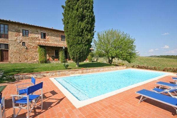 8 bedroom Villa in Montelupo Fiorentino, Tuscany, Italy : ref 2266245 - Image 1 - Malmantile - rentals