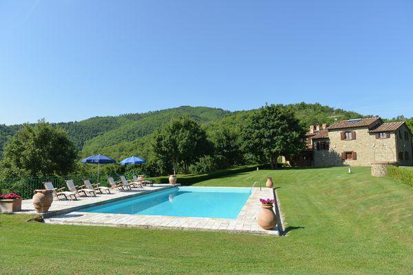4 bedroom Villa in Monterchi, Tuscany, Italy : ref 2266265 - Image 1 - Lippiano - rentals