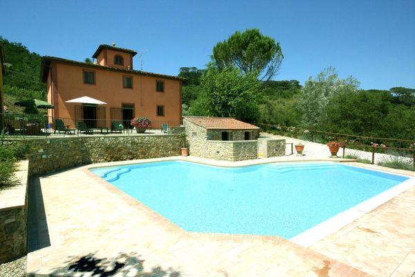 4 bedroom Villa in San Casciano In Val Di Pesa, Tuscany, Italy : ref 2266296 - Image 1 - Sant'Andrea in Percussina - rentals