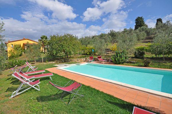 6 bedroom Villa in Lucignano, Tuscany, Italy : ref 2268121 - Image 1 - Lucignano - rentals