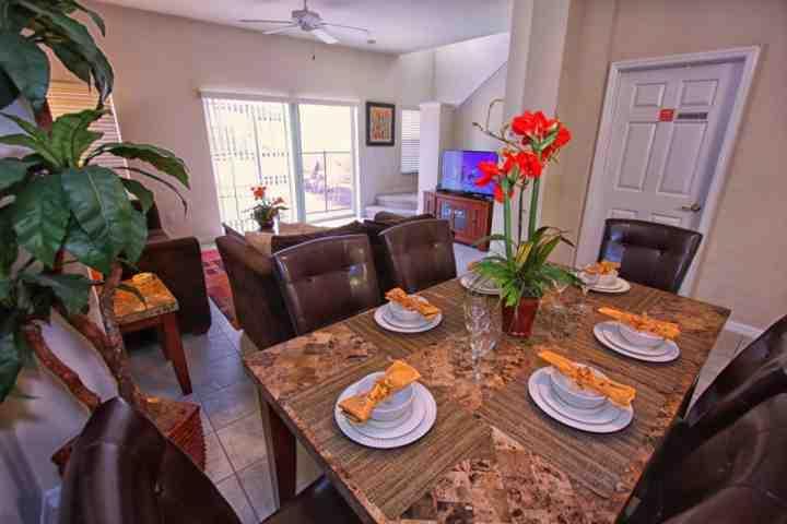 Dining Area for Six (6) - 4559 Bella Vida - Kissimmee - rentals
