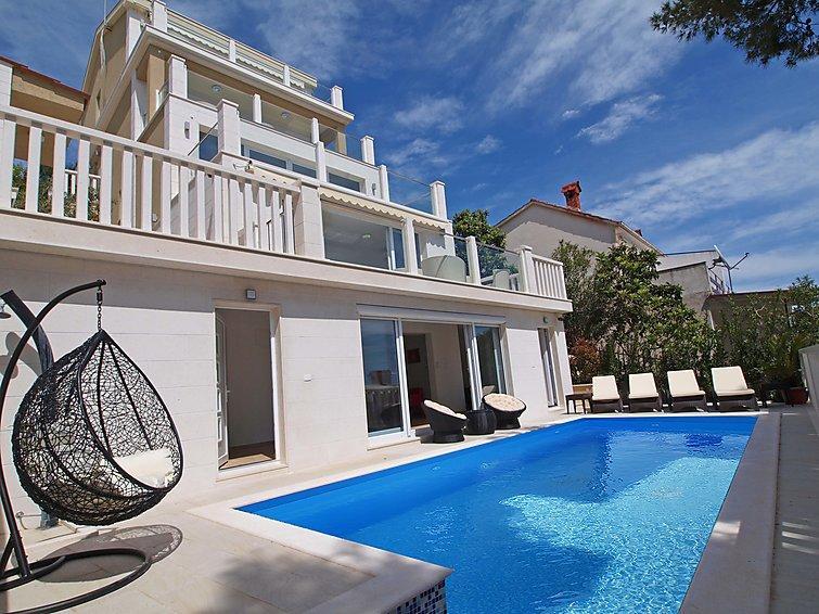 3 bedroom Villa in Trogir Okrug Gornji, Central Dalmatia, Croatia : ref 2283311 - Image 1 - Okrug Gornji - rentals