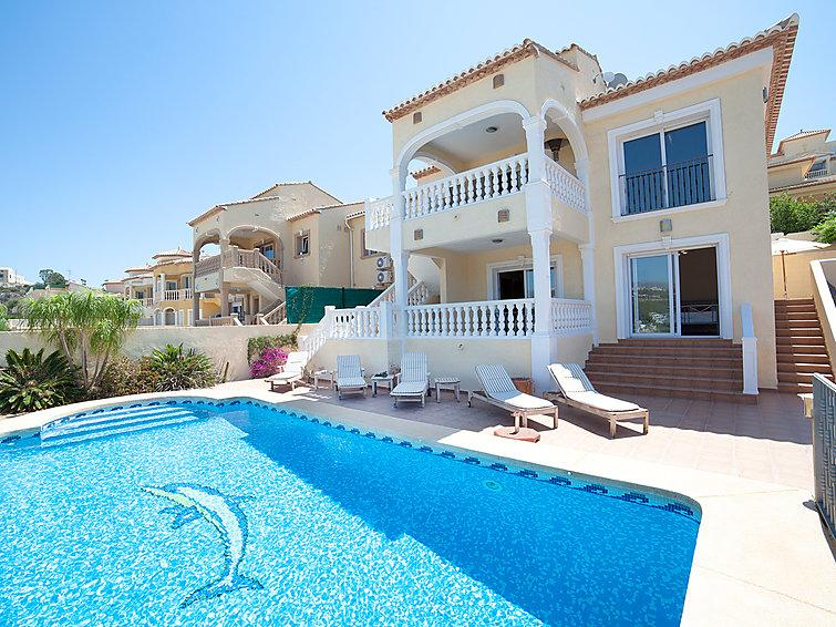 5 bedroom Villa in Calpe Calp, Costa Blanca, Spain : ref 2283544 - Image 1 - Calpe - rentals
