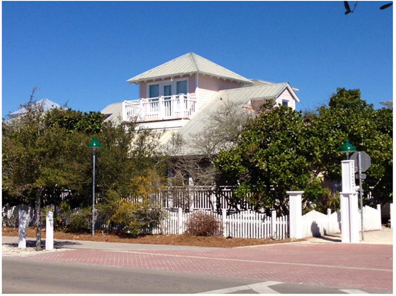 exterior - Monday's Child - Seaside - rentals