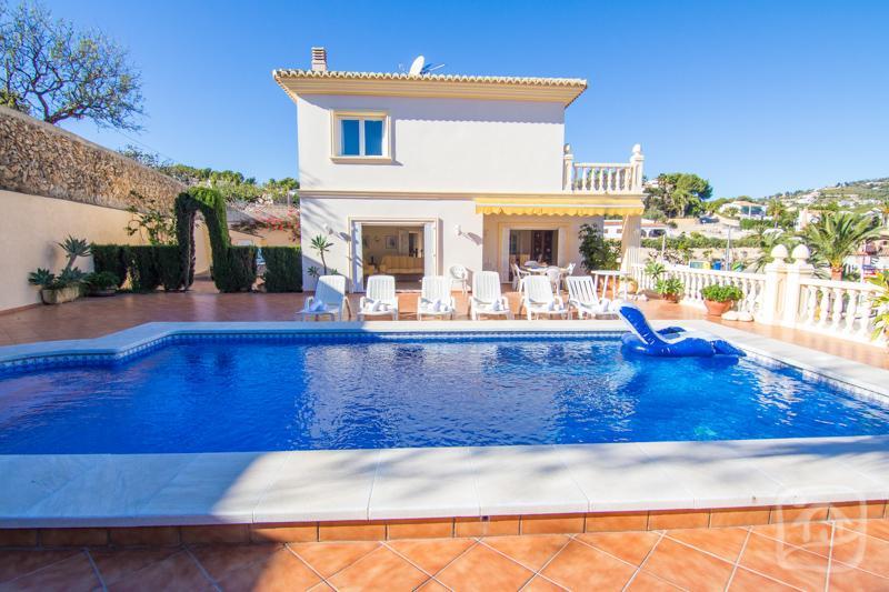 6 bedroom Villa in Benissa, Costa Blanca, Spain : ref 2287044 - Image 1 - La Llobella - rentals