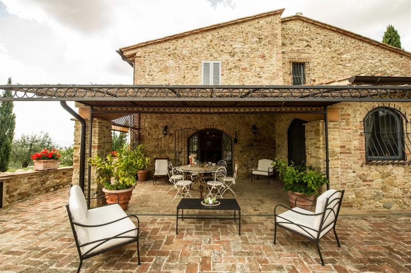 3 bedroom Villa in Montaione, San Gimignano, Volterra and surroundings, Tuscany, Italy : ref 2294119 - Image 1 - Villamagna - rentals