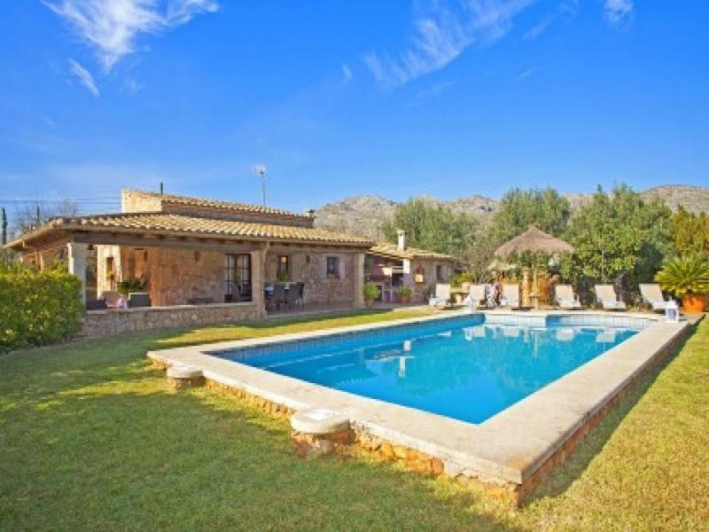 3 bedroom Villa in Pollenca, Mallorca, Mallorca : ref 2294362 - Image 1 - Port de Pollenca - rentals