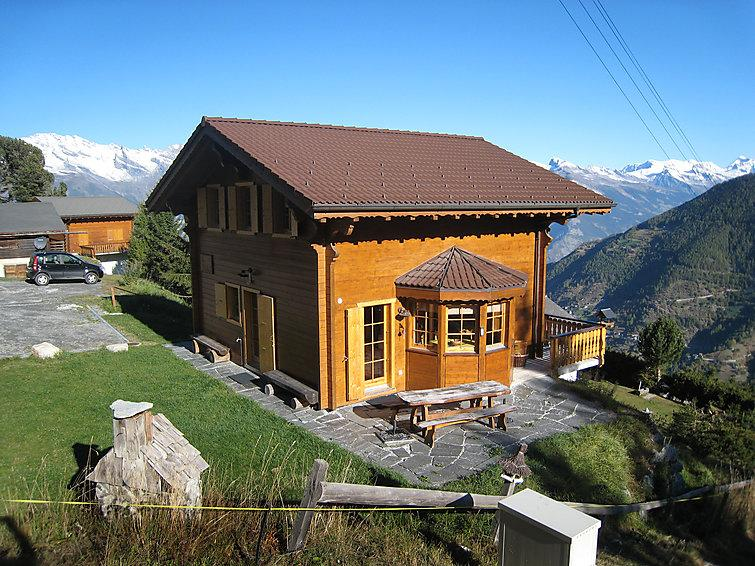5 bedroom Villa in La Tzoumaz, Valais, Switzerland : ref 2296578 - Image 1 - La Tzoumaz - rentals