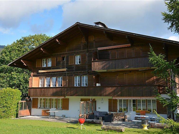 4 bedroom Apartment in Schonried, Bernese Oberland, Switzerland : ref 2297054 - Image 1 - Schönried - rentals