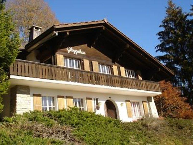 4 bedroom Apartment in Schonried, Bernese Oberland, Switzerland : ref 2297075 - Image 1 - Schönried - rentals