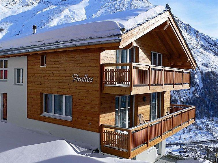 5 bedroom Apartment in Saas Fee, Valais, Switzerland : ref 2298871 - Image 1 - Saas-Fee - rentals