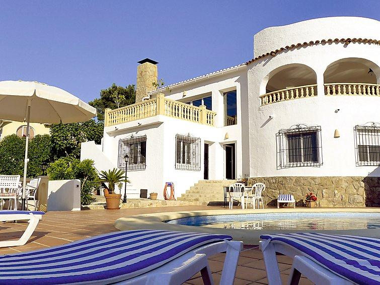 6 bedroom Villa in Javea, Costa Blanca, Spain : ref 2299077 - Image 1 - Javea - rentals