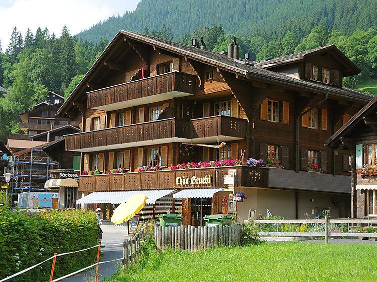 3 bedroom Apartment in Wengen, Bernese Oberland, Switzerland : ref 2300577 - Image 1 - Wengen - rentals