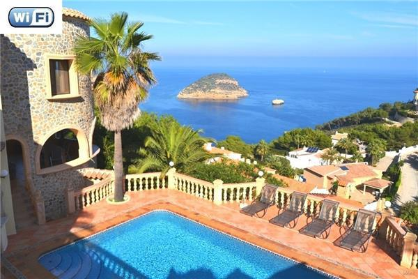 4 bedroom Villa in Javea, Costa Blanca, Javea, Spain : ref 2301042 - Image 1 - Javea - rentals