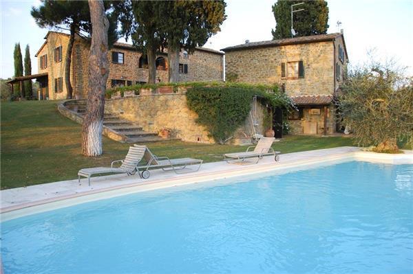 9 bedroom Villa in Lucignano, Tuscany, Italy : ref 2301986 - Image 1 - Lucignano - rentals