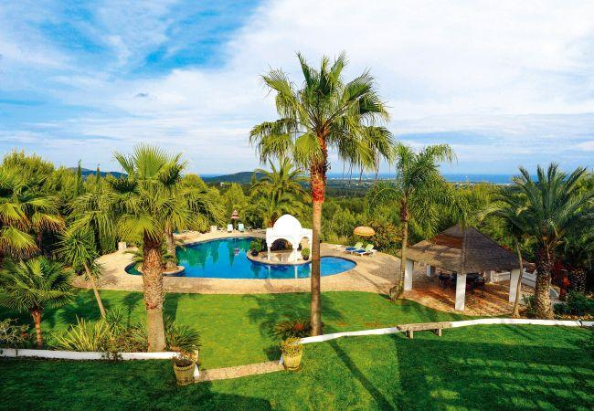 6 bedroom Villa in Santa Eulalia Del Rio, Ibiza, Ibiza : ref 2306363 - Image 1 - Santa Eulalia del Rio - rentals
