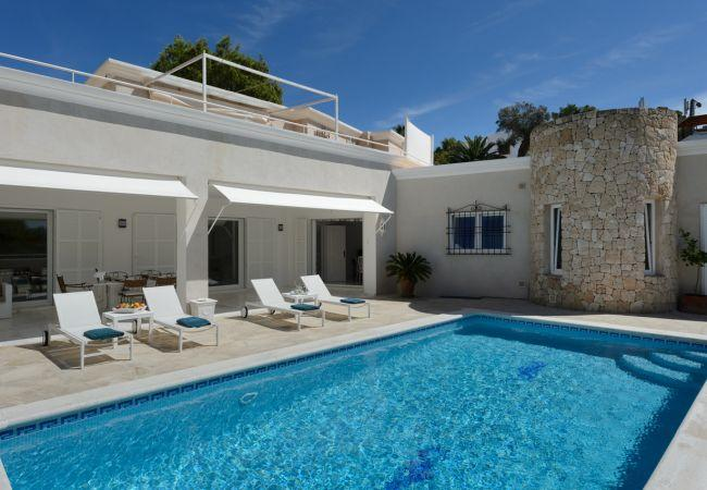 3 bedroom Villa in Santa Eulalia Del Rio, Ibiza, Ibiza : ref 2306367 - Image 1 - Santa Eulalia del Rio - rentals