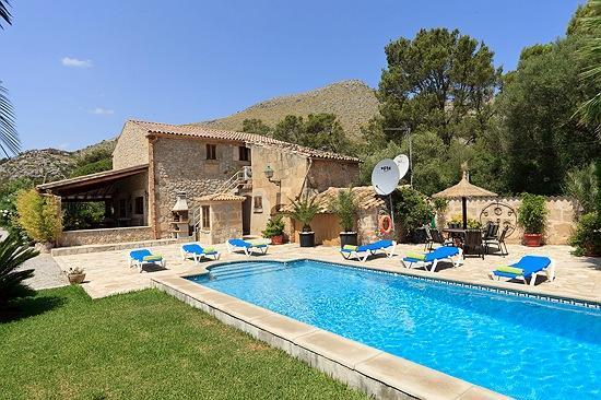 3 bedroom Villa in Pollença, Mallorca, Mallorca : ref 4018 - Image 1 - Puerto Pollensa - rentals
