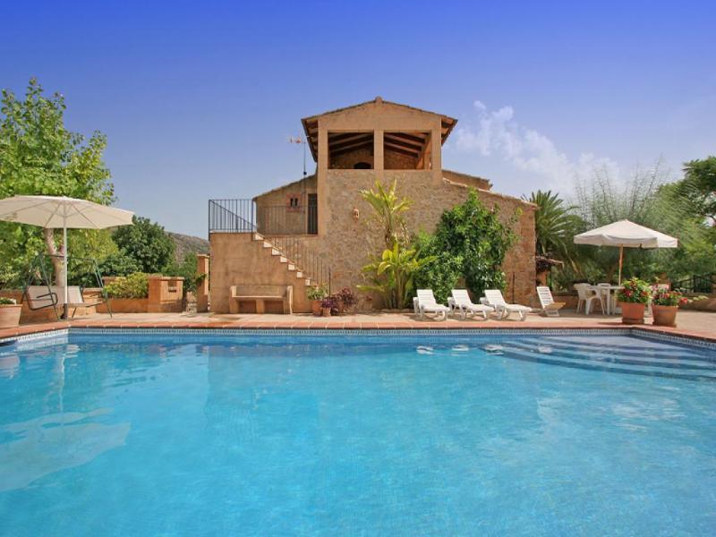 5 bedroom Villa in Sant Llorenç Des Cardassar, Mallorca : ref 4472 - Image 1 - Illetas - rentals