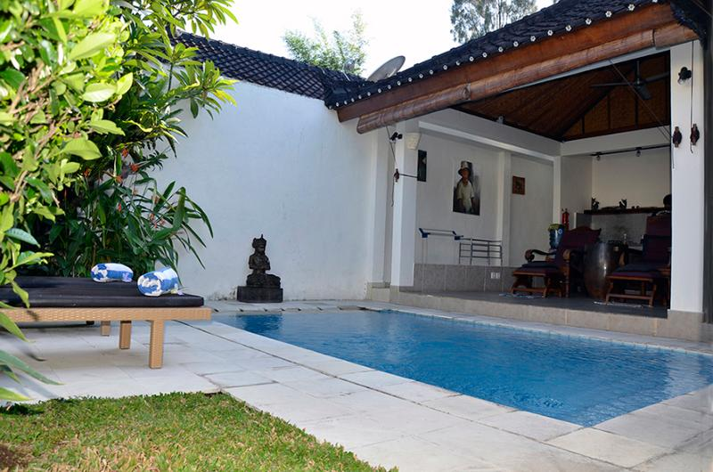 The dipping pool beside the living area is always inviting. - Villa Susanta - Private one bedroom villa w/ pool - Ubud - rentals