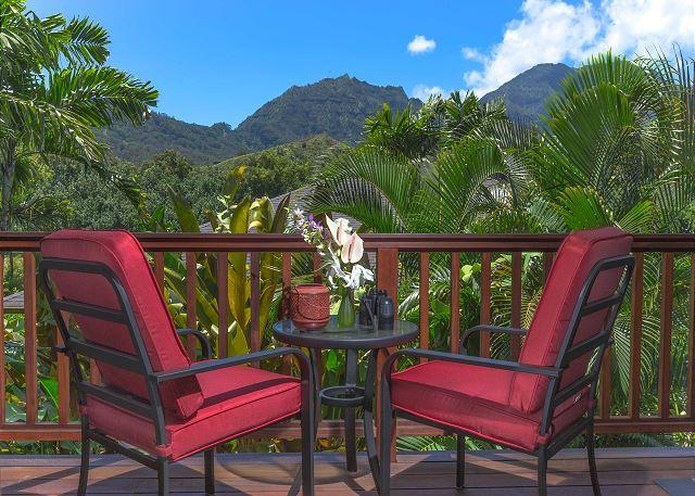 15% off Fall Dates! Hanalei Waterfalls, Mountain Views, with A/C! - Image 1 - Hanalei - rentals