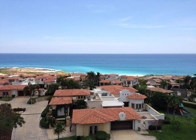 Front View - Available for New Years! Ocean View Condo, Cabo del Sol, pool & golf - Cabo San Lucas - rentals
