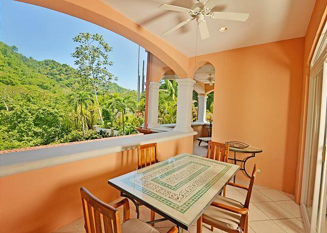 Terrace with rainforest view. - Perfect Getaway, Luxury condo at Los Sueños, great for families! - Herradura - rentals
