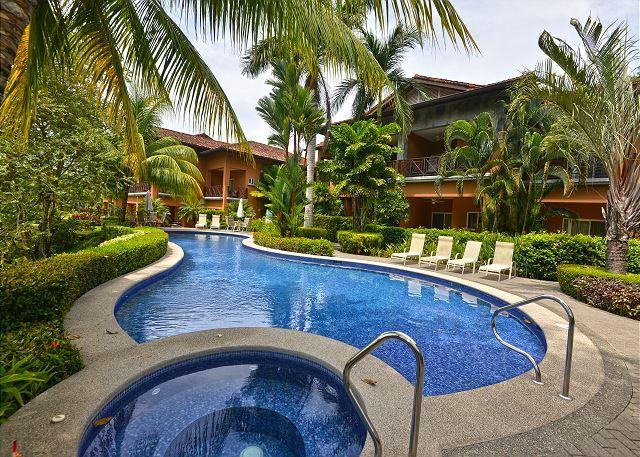 Pool area at Veranda Community. - Cozy, affordable Condo, close to amenities at Los Sueños Resort! - Herradura - rentals