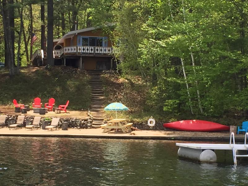 Everything you need for those long lazy days of summer! - Lakefront Chalet in Conway, N.H. - Conway - rentals