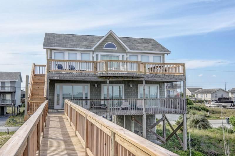 BARKER COTTAGE - Image 1 - Topsail Beach - rentals