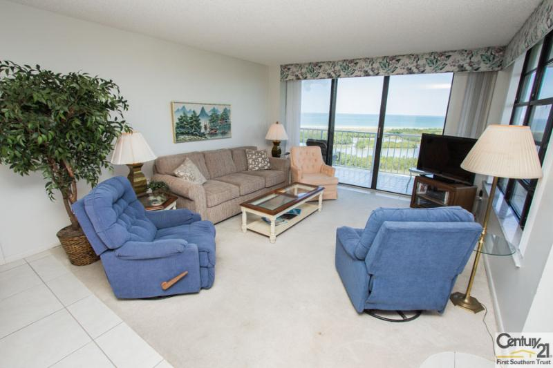 Living Area - SST4-1103 - South Seas Tower - Marco Island - rentals