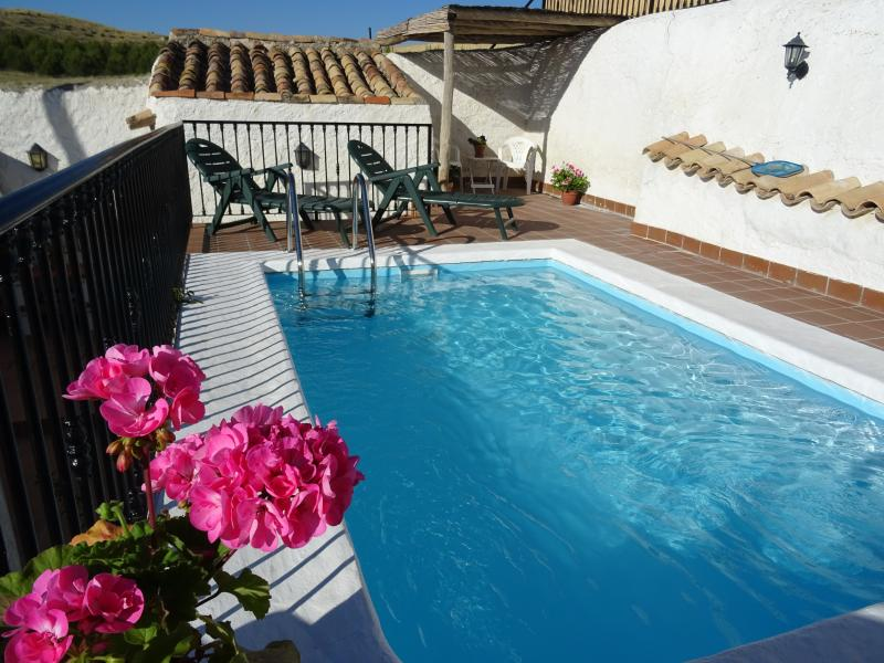 Exclusive use of pool - Cortijo Romero, exclusive use pool, Orce - Orce - rentals