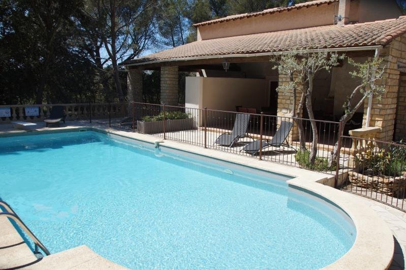 House 5 People swimming pool, tennis - Image 1 - Grans - rentals