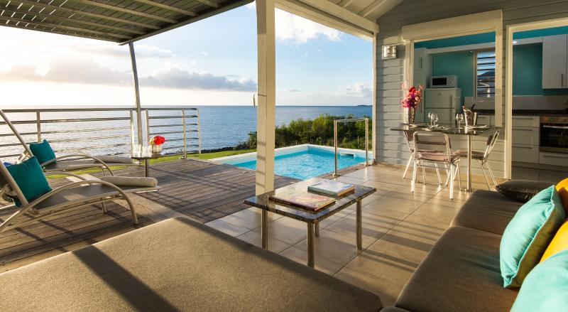 Blue Haven Villas Guadeloupe - Oceanfront Blue Haven Villas, private pool - Bouillante - rentals