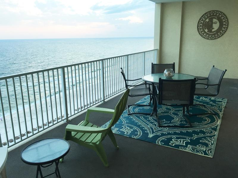 Enjoy the largest balcony in Panama City Beach.....10' wide x 28' Long!! - February Sale*Book Now for Spring*Free Beach Svc! - Panama City Beach - rentals