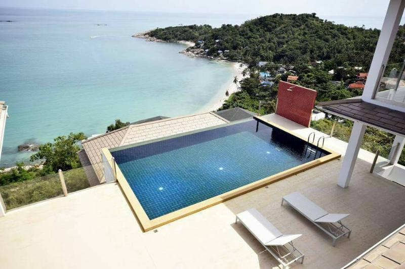 Villa Majesty stunning ocean views - Image 1 - Choeng Mon - rentals