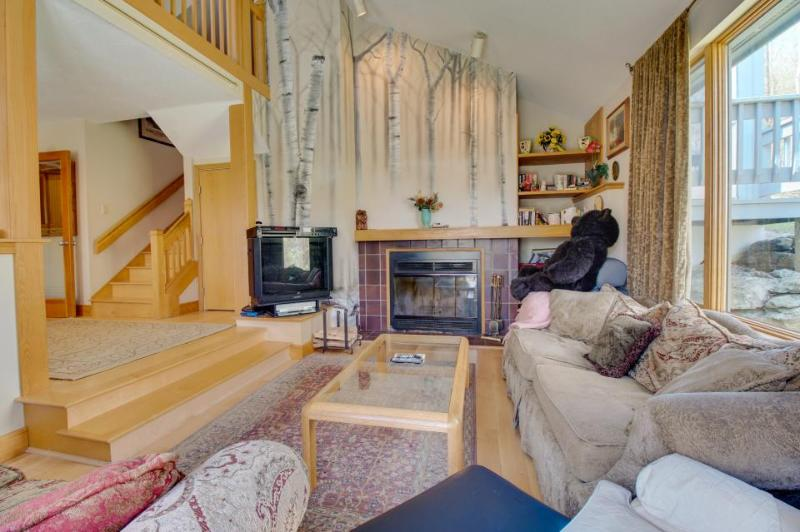 Great amenities like on-site gym, pool, hot tub & more + stunning mountain views - Image 1 - Killington - rentals