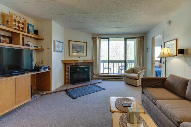 Cozy condo on the mountain - lodge w/ pool, hot tubs & more! - Image 1 - Killington - rentals